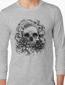 Skull Bio Wave Long Sleeve T-Shirt