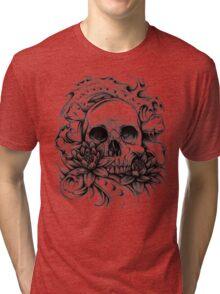 Skull Bio Wave Tri-blend T-Shirt