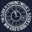 Clock is striking Twelve's - Doctor Who by LovelyOwls