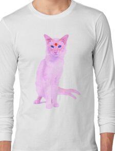 My cat is an espeon Long Sleeve T-Shirt