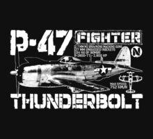P-47 Thunderbolt by deathdagger