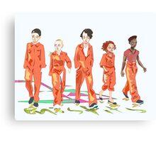 #4 misfits Canvas Print