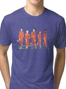 #4 misfits Tri-blend T-Shirt