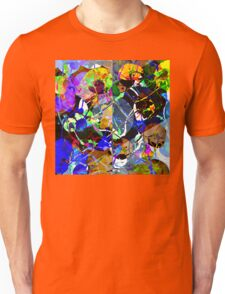 Colorful Abstract Mixed Media Unisex T-Shirt