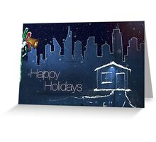 Happy Holidays - Home themed Greeting Card
