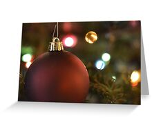 Christmas Classic Greeting Card