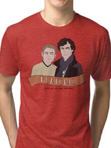 Platonic (but not really) Tri-blend T-Shirt