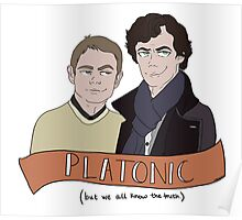 Platonic (but not really) Poster