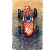 Ferrari Dino 156 1962 Monaco GP Photographic Print