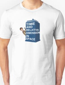 Matt Smith Tardis T-Shirt