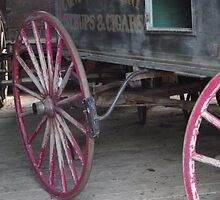 wagon wheels by Naomi Slater