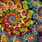 Spiral of Color by wolfepaw