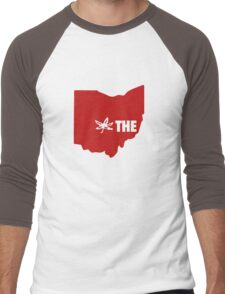 THE Ohio State University Men's Baseball ¾ T-Shirt