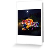 Upon a Midnight Prime Greeting Card
