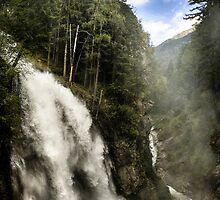 Landscape nature waterfall in the mountains - Il Grande Salto by visionitaliane