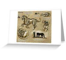 Bestiary: Allothog Greeting Card