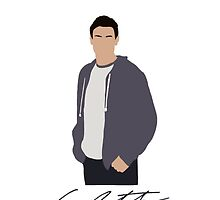 Cory Monteith Phone Case by Chanel Aguilar