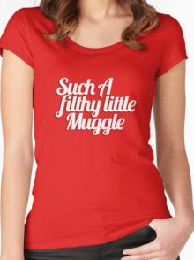 Such A Filthy Little Muggle Women's Fitted Scoop T-Shirt
