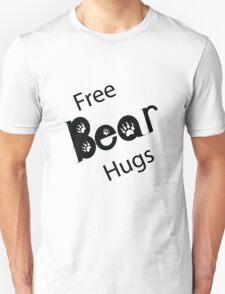 Free Bear Hug T-shirt T-Shirt
