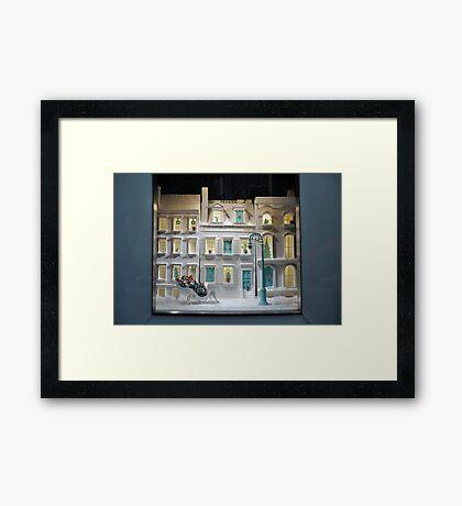 Tiffany's Window Framed Print