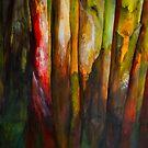 Painted Trees by olga zamora