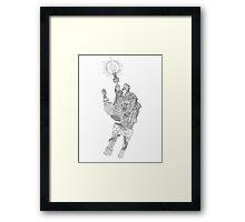 Mechanical Genius Framed Print