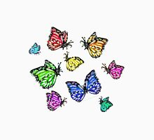 Colorful Butterflies taking Flight (Flutter) Unisex T-Shirt
