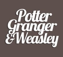 Potter Granger & Weasley One Piece - Short Sleeve