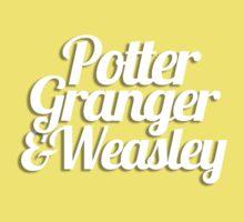 Potter Granger & Weasley One Piece - Short Sleeve