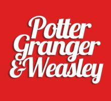 Potter Granger & Weasley Baby Tee