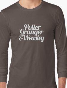 Potter Granger & Weasley Long Sleeve T-Shirt