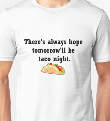 Taco Night Unisex T-Shirt