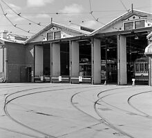 Bendigo Tram Workshop by Brett Rogers