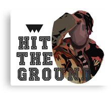 Hit The Ground // Purpose Pack // Canvas Print