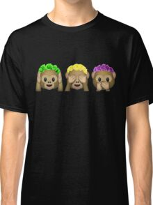 Flower Crown Monkeys Classic T-Shirt