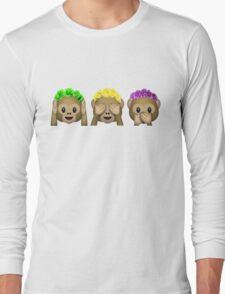 Flower Crown Monkeys T-Shirt