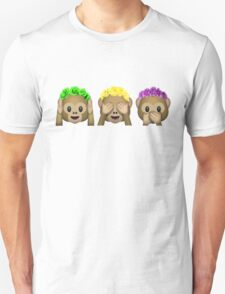 Flower Crown Monkeys Unisex T-Shirt