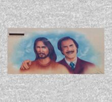 Ron Burgandy And Jesus Mobile Merchandise by BrandAM