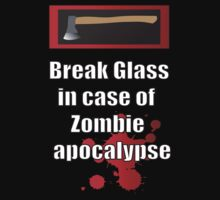 Break glass in case of apocalypse by icemanire