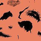Space Fleas by WoolleyWorld