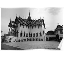 Temples of Thailand Poster