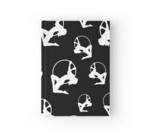 Lyra Aerialist in Hoop Silhouette Hardcover Journal