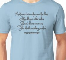 Thoughts on a clock Unisex T-Shirt