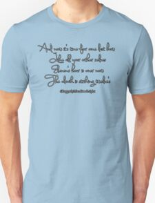 Thoughts on a clock T-Shirt
