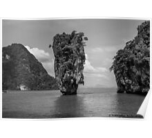 James Bond Island Poster