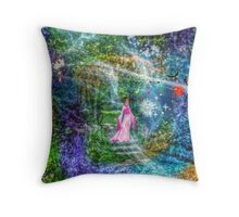 Following A Dream Throw Pillow
