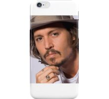 Cool Johnny Depp iPhone Case/Skin