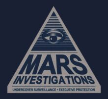 MARS INVESTIGATIONS - BLUE by juliamakin