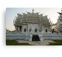 The white temple Canvas Print