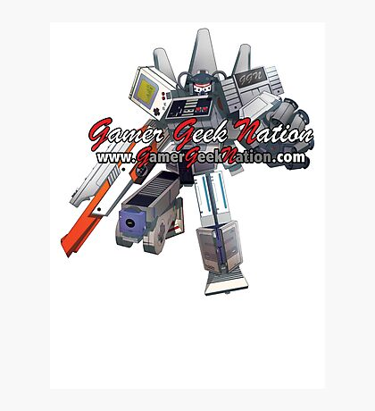 Nintendo Hybrid Transformer - Gamer Geek Nation Photographic Print